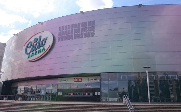Panevėžio CIDO arenos fasadas