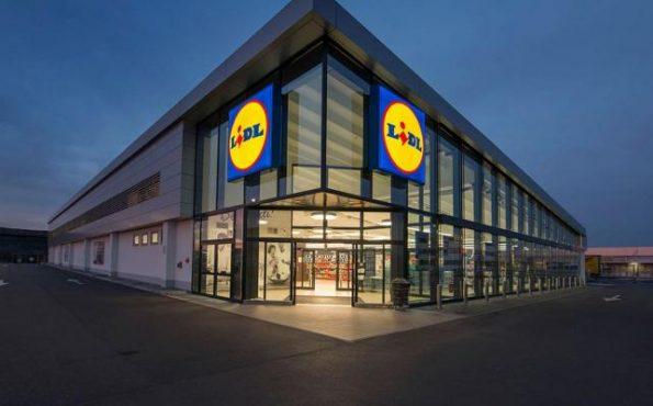 LIDL parduotuvė